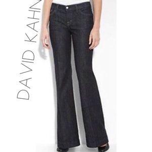 David Kahn LIKE NEW Wmns Black BootCut Jeans